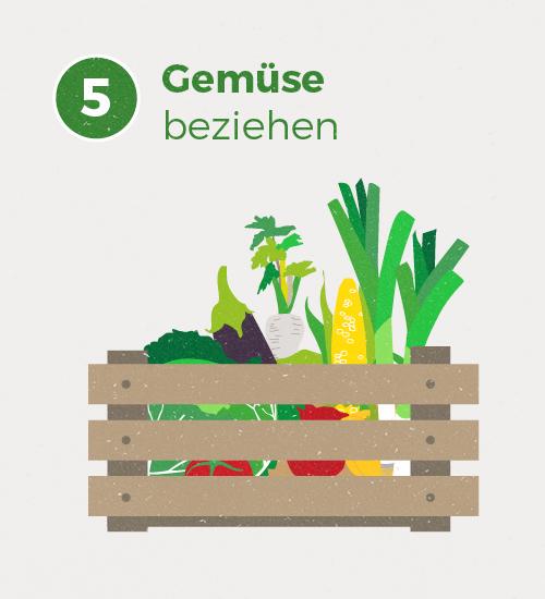 Im Frühjahr 2018 wird es voraussichtlich das erste Gemüse aus unserem WirGarten geben :)