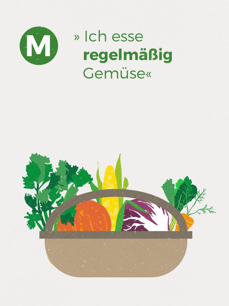 Im Jahresdurchschnitt erhältst du ca. 1,50 kg Gemüse-Vielfalt und 0,45 kg Kartoffeln pro Woche. Diese Zahlen basieren auf der Anbauplanung und können je nach Witterung höher oder niedriger ausfallen.